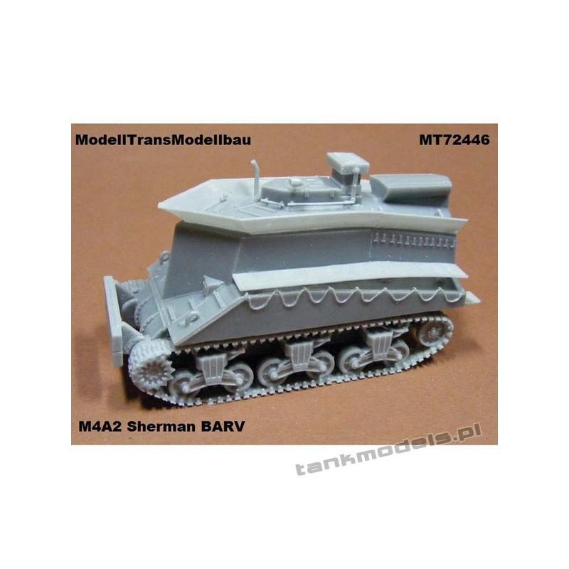 Sherman M4A2 BARV - Modell Trans 72446
