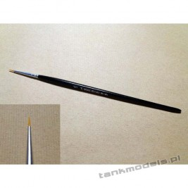 Seria 115 - Pędzel stożkowy nr. 0 (włosie syntetyczne, złote) - Walecki 115-0