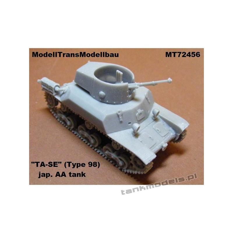 "Antiaircraft tank ""TA-SE"" (Type 98) - Modell Trans 72456"