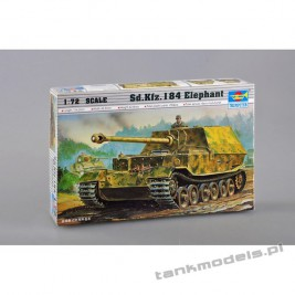 Elefant German tank destroyer - Trumpeter 07204