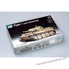 Tiger I Ausf. E pozny - Trumpeter 07244