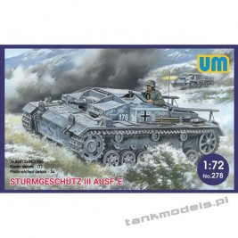 Sturmgeschutz III Ausf. E - Unimodels 278