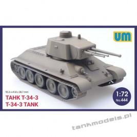T-34-3 - Unimodels 444