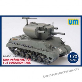T-31 Demolition tank - Unimodels 456