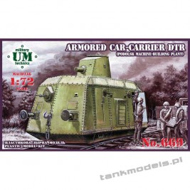 Armored carrier DTr (Podolsk machine-building plant) - UMMT 669