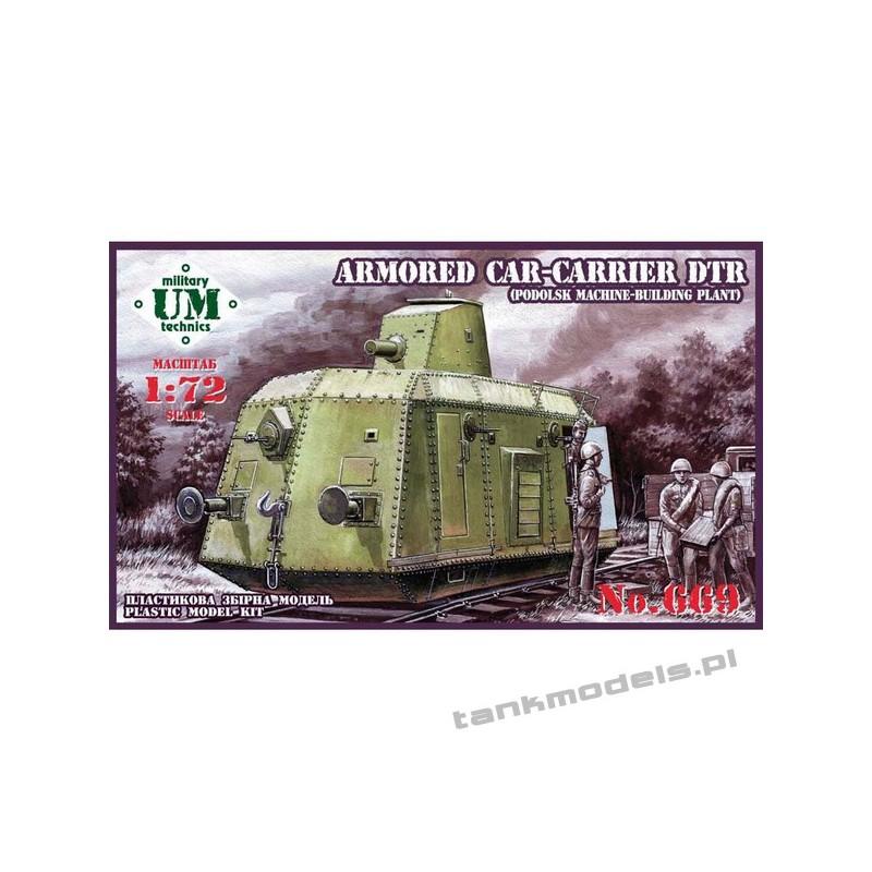 Armored carrier DTr (Podolsk machine-building plant) - UMMT 669