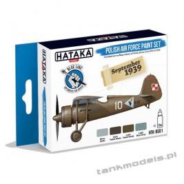 Polish Air Force paint set (4x17ml) - Hataka BS01