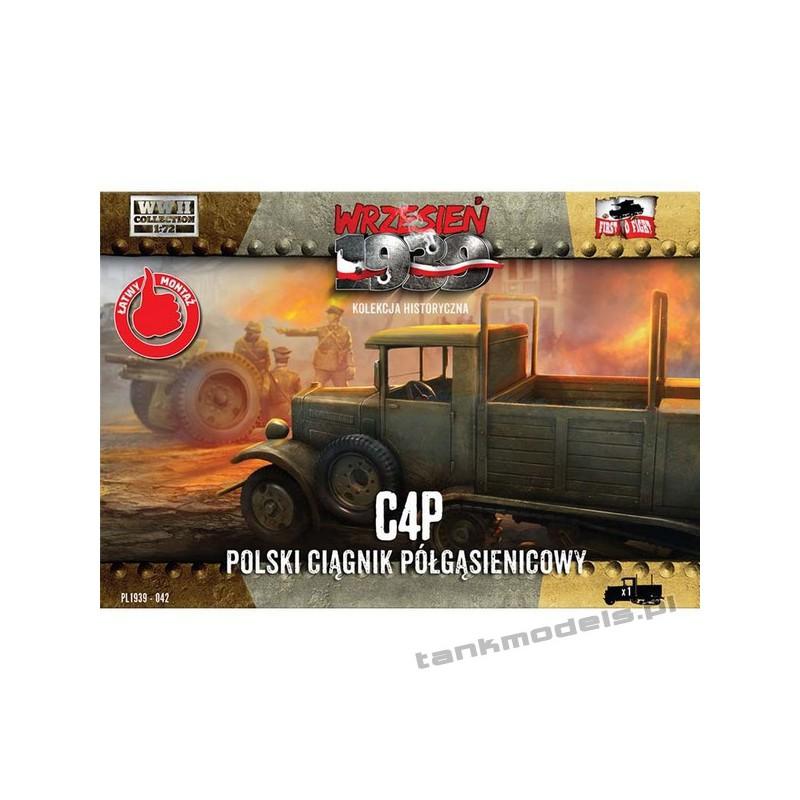 C4P Polish artillery halftrack - First To Fight PL1939-42