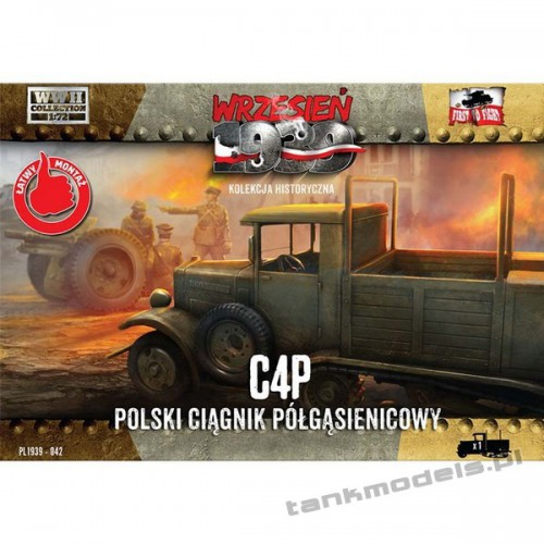 C4P Polish artillery tractor - First To Fight PL1939-42