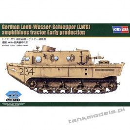 German Land-Wasser-Schlepper (LWS) amphibi tractor Early - Hobby Boss 82918