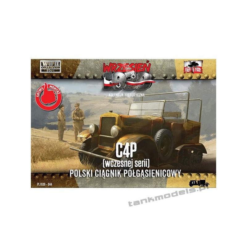 C4P wczesny Polski ciągnik artyleryjski - First To Fight PL1939-44