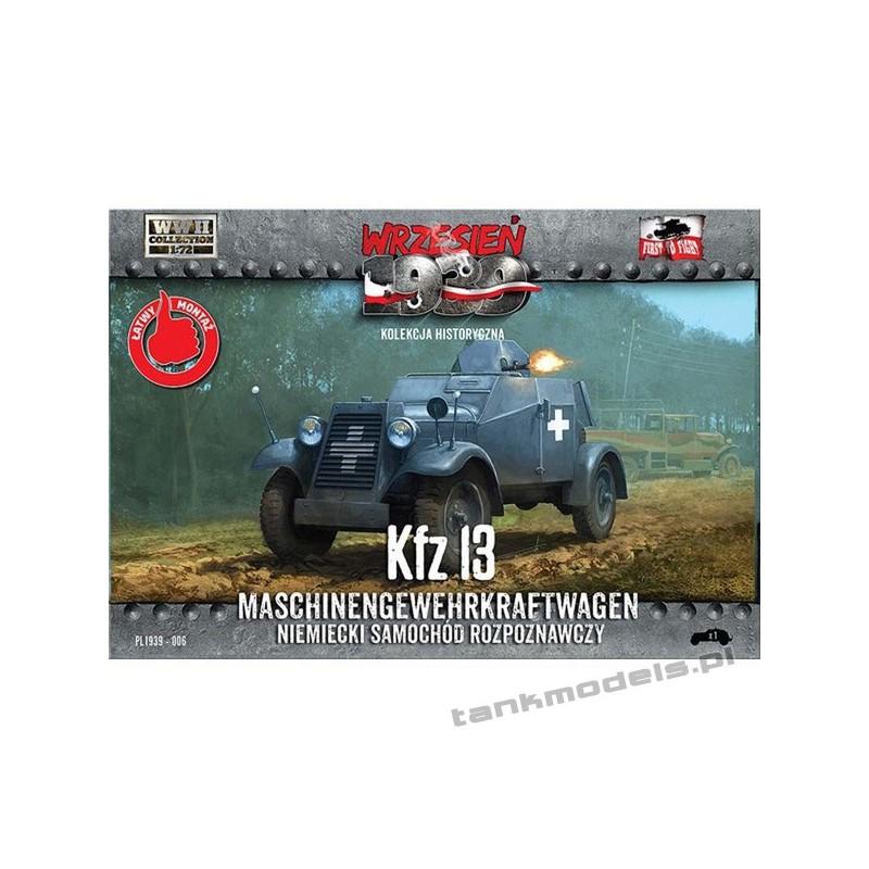 Kfz. 13, niemiecki samochód rozpoznawczy - First To Fight PL1939-006