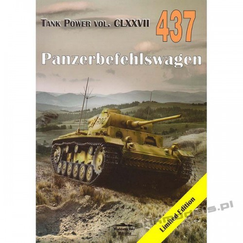 Panzerbefehlswagen III - Janusz Ledwoch - Militaria 437