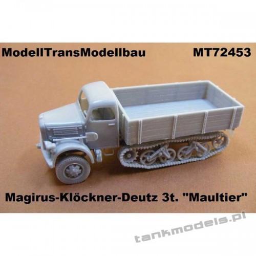 """Magirus-Klöckner-Deutz S3000 """"Maultier"""" - Modell Trans 72453"""