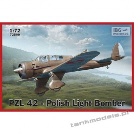 PZL. 42 Polish Light Bomber - IBG 72509