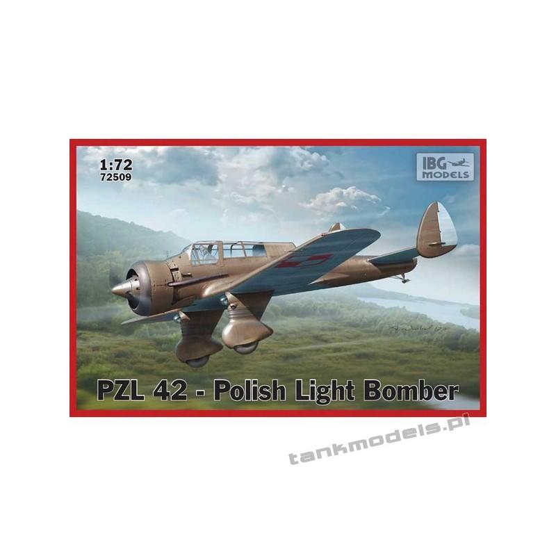 PZL. 42 Polish Light Bomber - IBG 72509