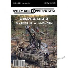 Panzerjager Marder III - Nashorn - Wozy Bojowe Świata 12 (5-6/2017)