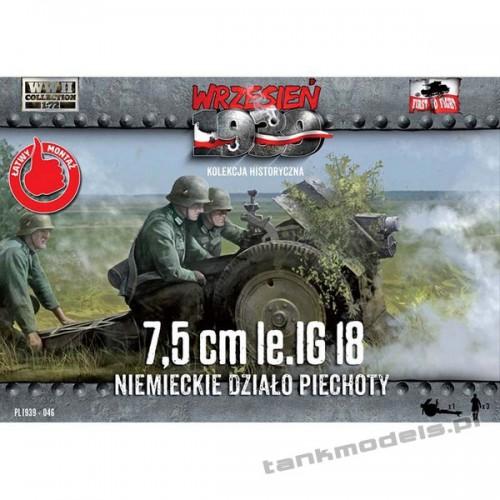 75mm le.IG 18 Niemieckie działo piechoty - First To Fight PL1939-46