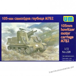 M7B2 155mm - Unimodels 228