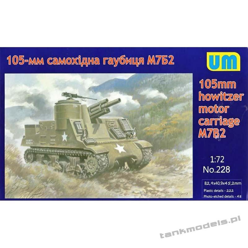 M7B2 155mm - Unimodels 228