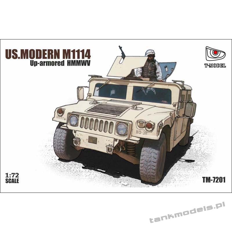 U.S. HMMWV M1114 Up-armored - T-Model 7201