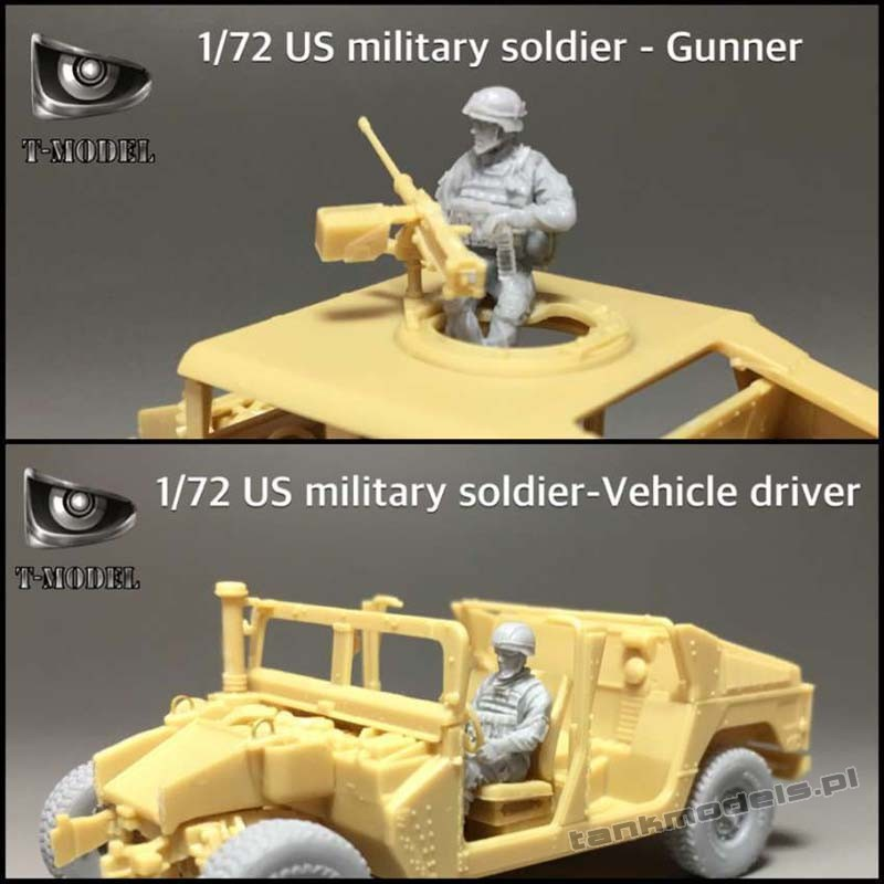 Driver and Gunner US Military soldiers - T-Model 72003