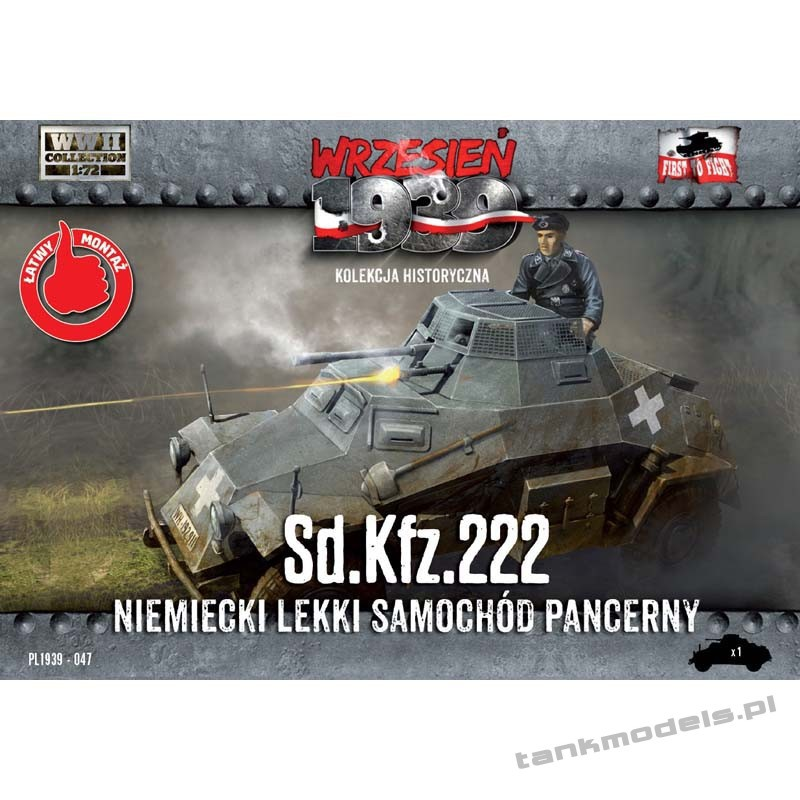 Sd.Kfz. 222 - First To Fight PL1939-47