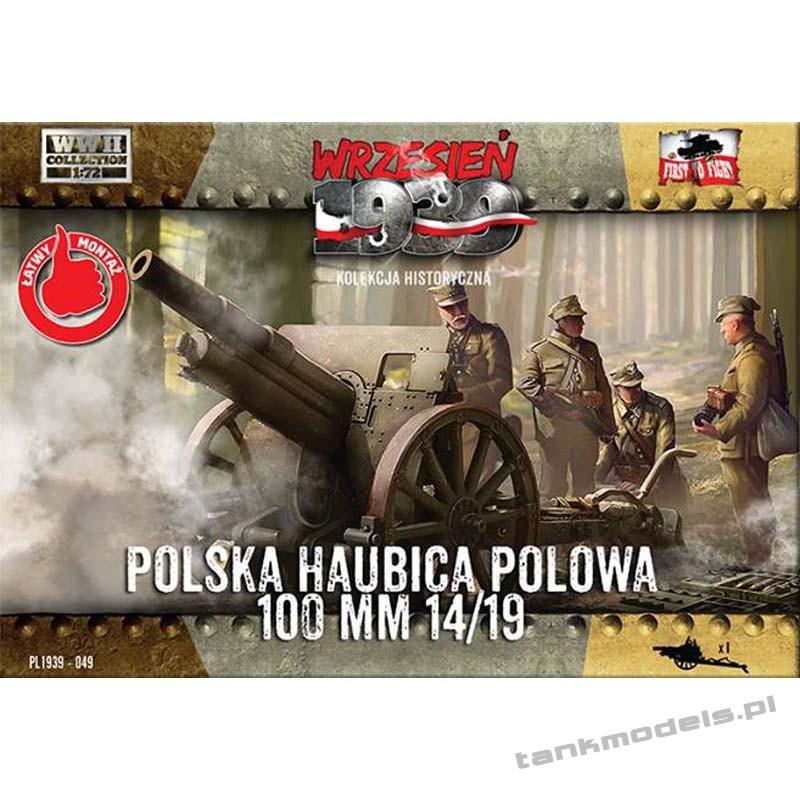 Polish field haubica 100mm 14/19 - First To Fight PL1939-49