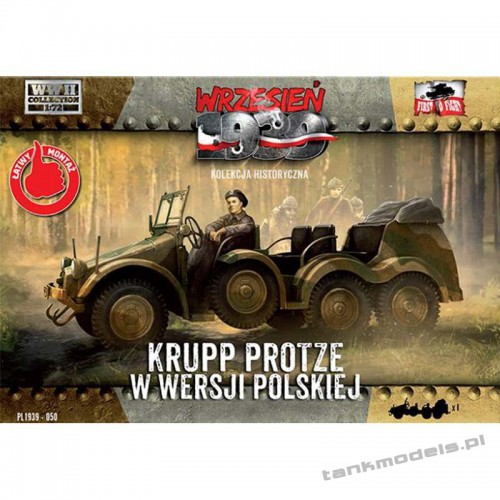 Krupp Protze Polish version - First To Fight PL1939-50