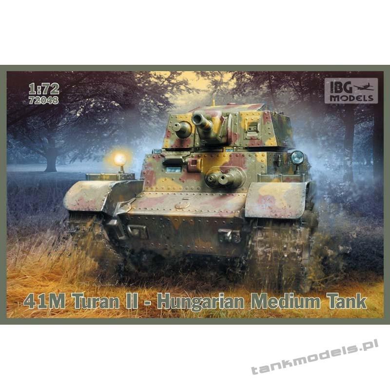 Turan II – Hugarian Medium Tank - IBG 72048