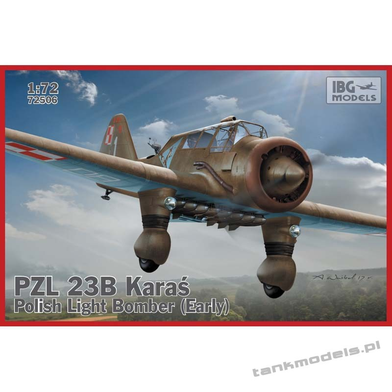 PZL.23B Karaś - Polish Light Bomber (Early production) - IBG 72506