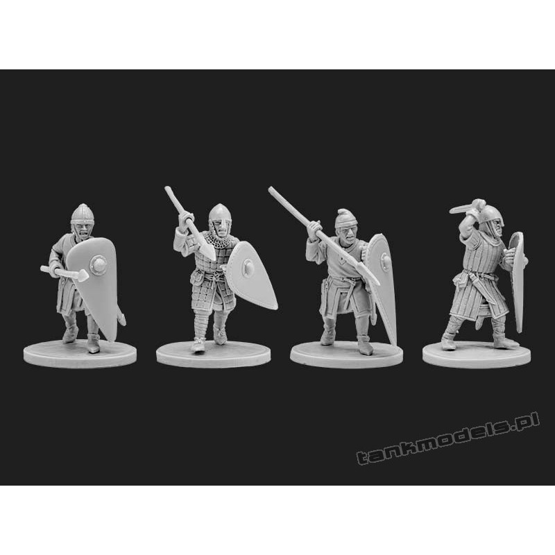 Norman infantry 2 - V&V Miniatures R28.17