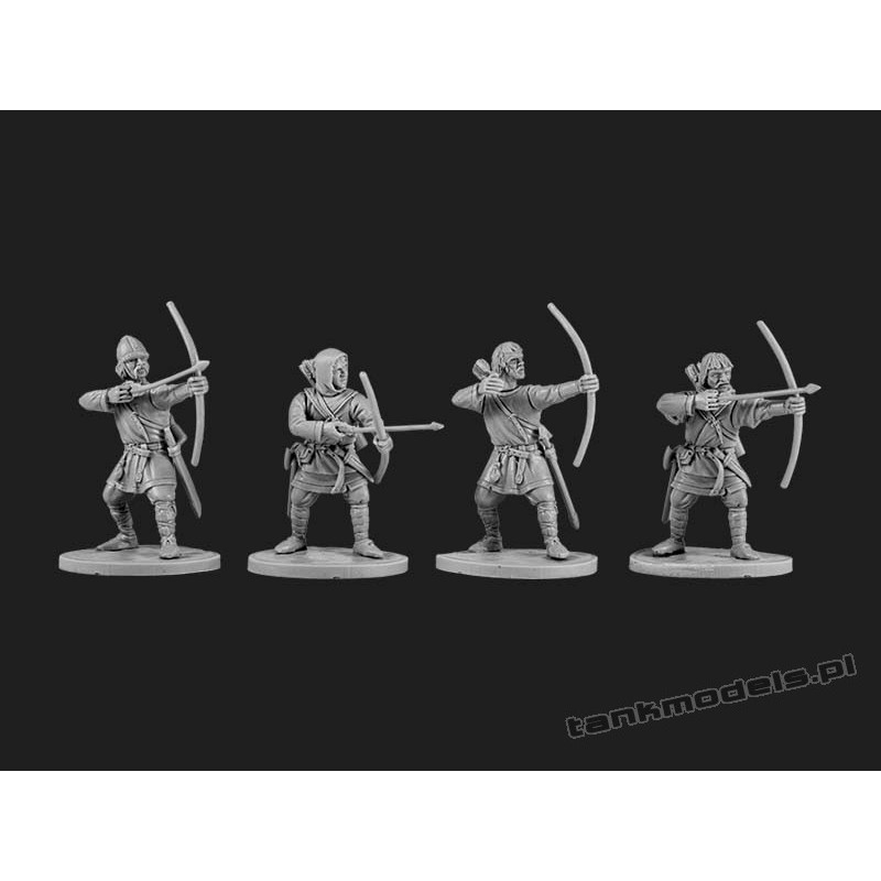 The Anglo-Saxons: Archers - V&V Miniatures R28.5