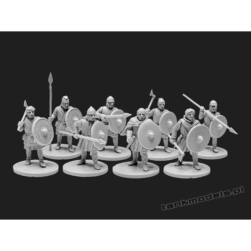 The Anglo-Saxons 4: Ceorls - V&V Miniatures R28.12