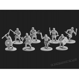 The Anglo-Saxons 5: Geburs - V&V Miniatures R28.13