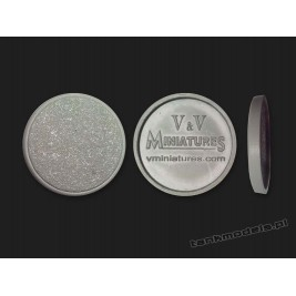 Round Plastic Base 25mm - V&V Miniatures PB25