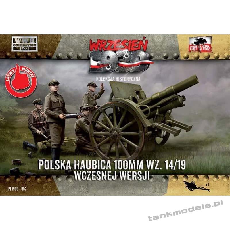 Polska Haubica Polowa 100mm 14/19 (wczesna) - First To Fight PL1939-52