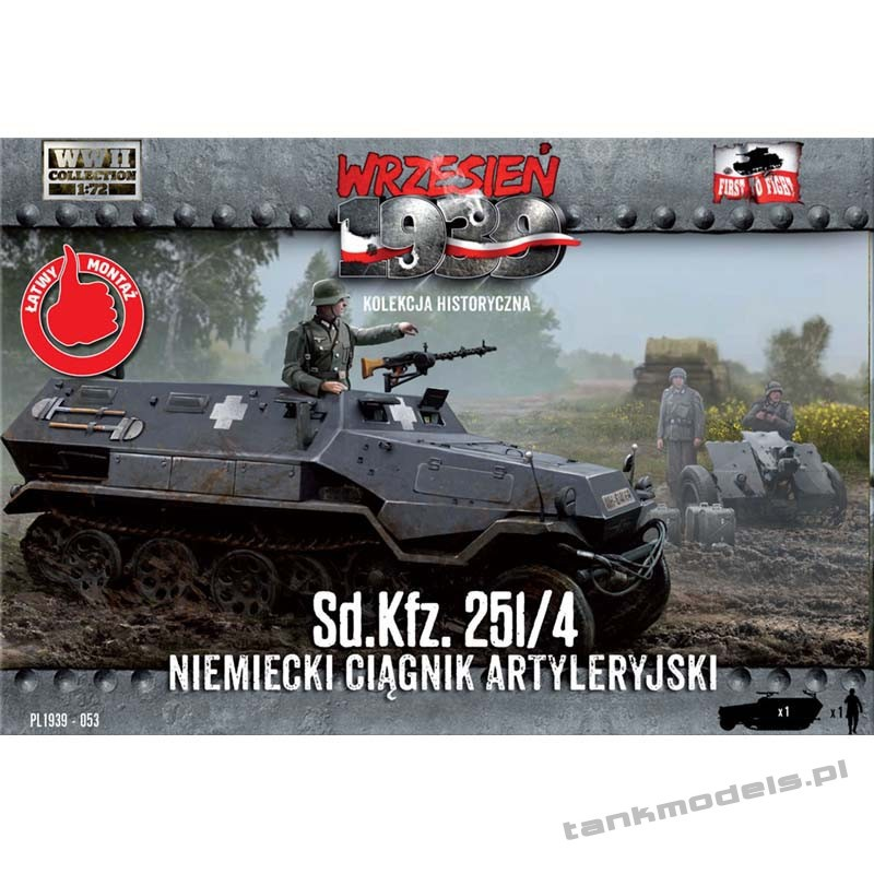 Sd.Kfz. 251/4 ciągnik amunicyjny - First To Fight PL1939-53