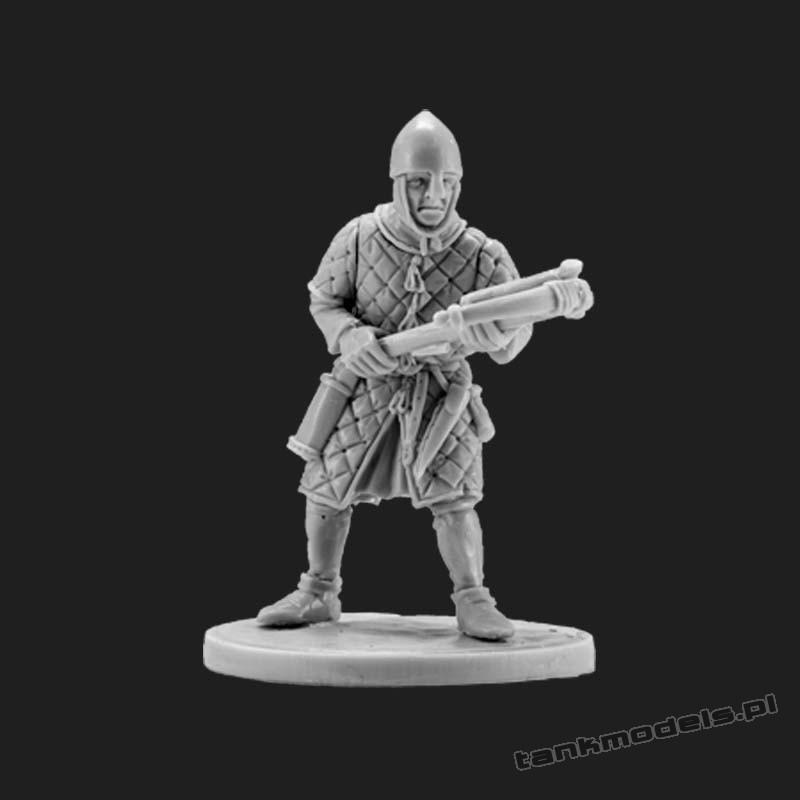 Norman Crossbowman 3 - V&V Miniatures R28.16.3