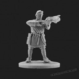 Norman Crossbowman 7 - V&V Miniatures R28.16.7