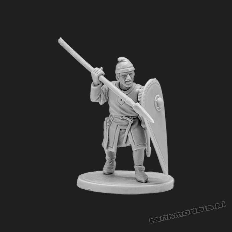 Norman infantryman 6 - V&V Miniatures R28.17.2