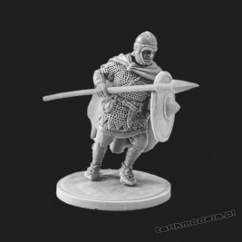 The warrior holding spear - V&V Miniatures R28.4.1