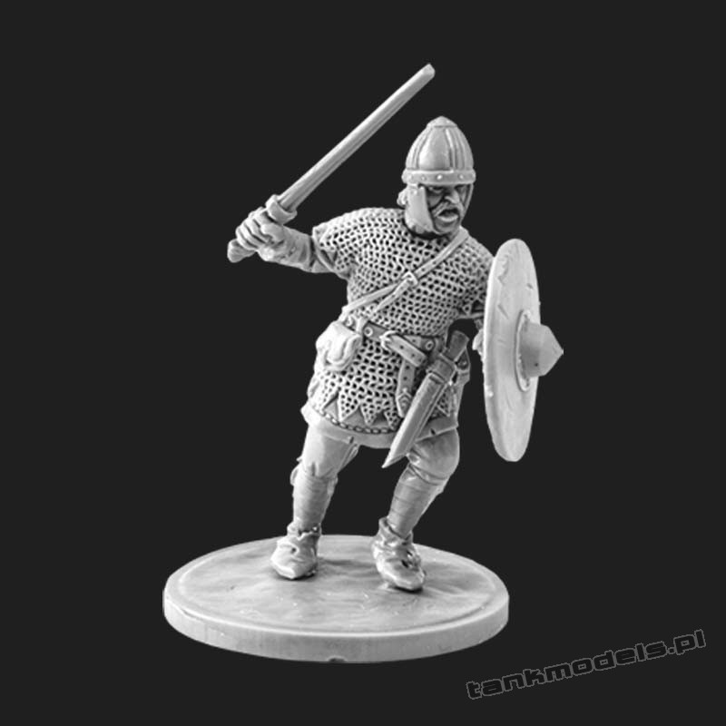 The Anglo-Saxon warrior with sword 2 - V&V Miniatures R28.4.4