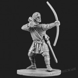 The Anglo-Saxon archer 1 - V&V Miniatures R28.5.1
