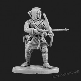 The Anglo-Saxon archer 2 - V&V Miniatures R28.5.2