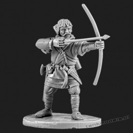 The Anglo-Saxon archer 3 - V&V Miniatures R28.5.3