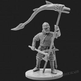 The Anglo-Saxons warrior with a banner - V&V Miniatures R28.6.1