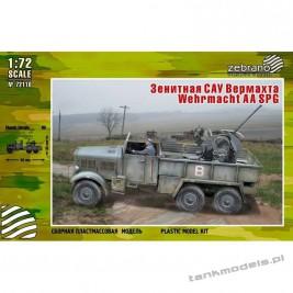 Einheitz-Diesel mit 2 cm Flak. 38 (Wehrmacht AA SPG) - Zebrano 72115