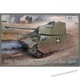 44M Turan III Hungarian Medium Tank - IBG 72049