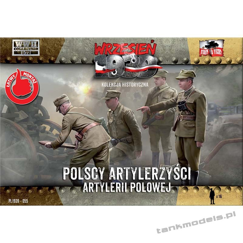 Polish artillerymen - First To Fight PL1939-55